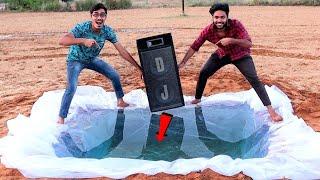 Large DJ Speaker Under Water Test | बड़े डीजे स्पीकर को पानी में डुबा कर बजाया | Will It Work?