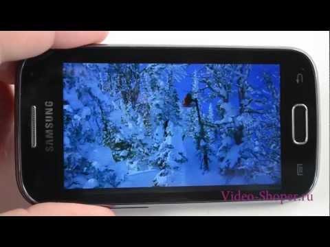 Видеообзор телефона Samsung Galaxy Ace 2