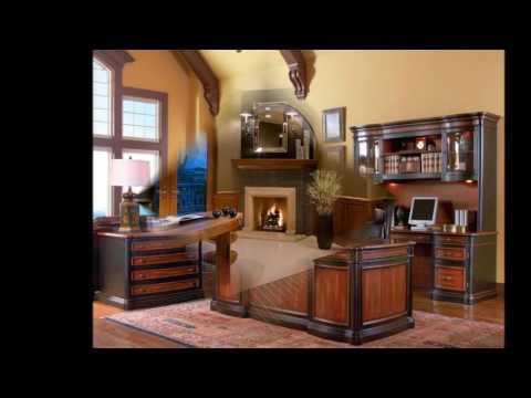 Elegant Luxury Home Office Decoration Ideas