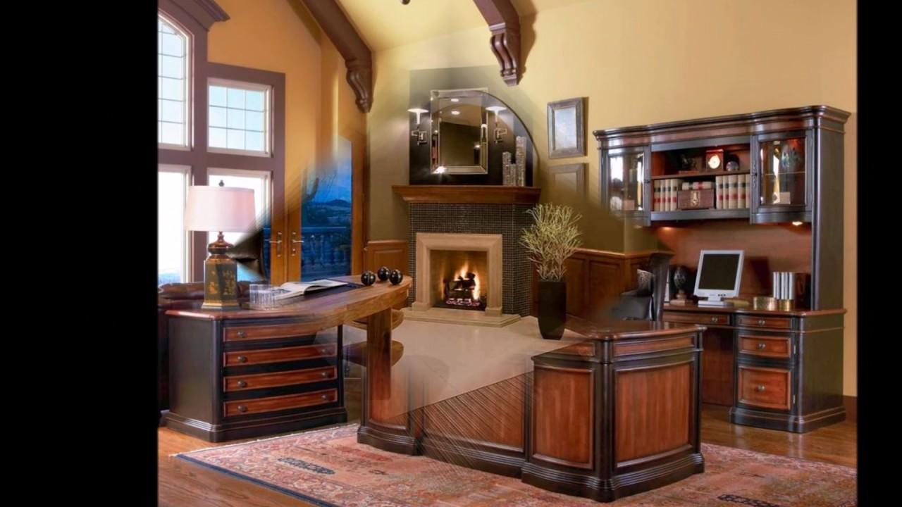 Elegant luxury home office decoration ideas youtube for Elegant home office decorating ideas