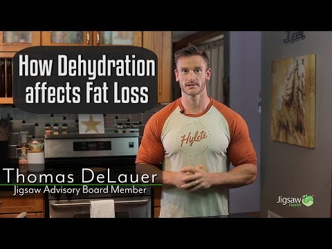 How Dehydration Affects Fat Loss | #ScienceSaturday