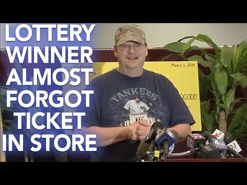 JT Bosch - WOW! Man Win's $273 Million Dollars In NJ Lottery AFTER He Lost The Tickets