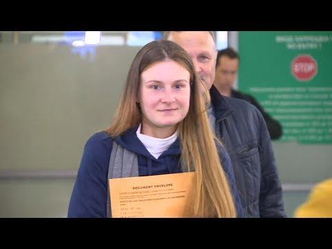 """""""Русские не сдаются"""" - Бутина вернулась на родину"""