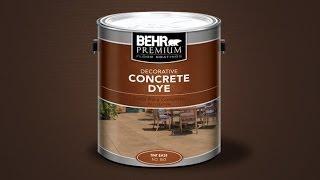 Concrete Dye 2014