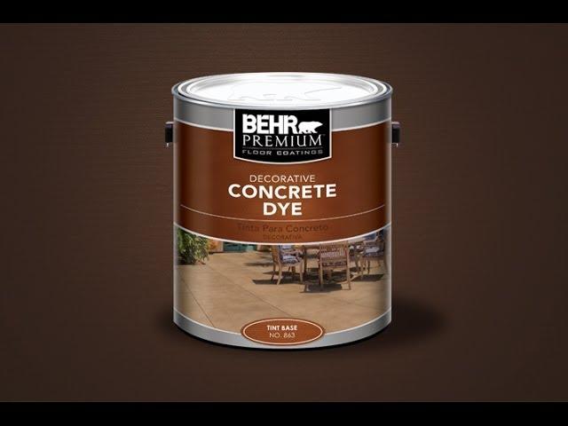 Concrete Dye 2017 You