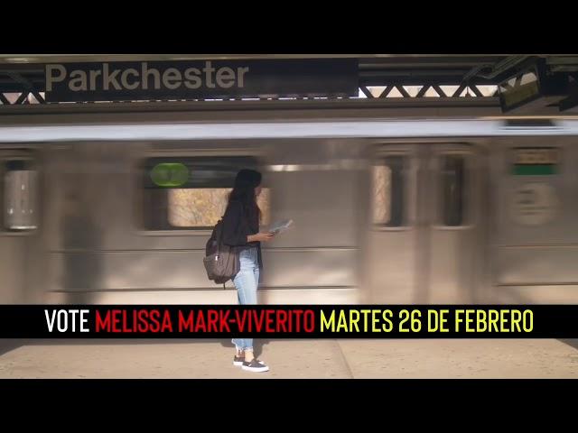 Melissa Mark Viverito Defensora del Pueblo. Vota por MMV el 26 de febrero
