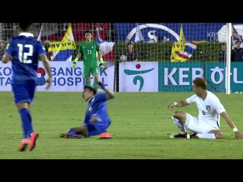 A Match (2016.0327) Thailand  vs. Republic of Korea (South) 태국 vs 대한민국 Live 축구 국가대표 평가전