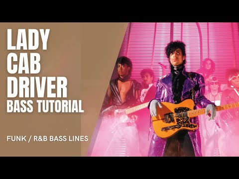 Prince Lady Cab Driver Bass lesson