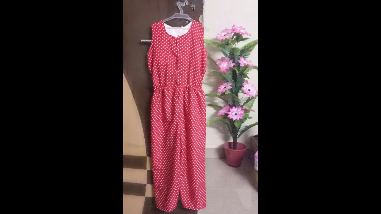100741d5225 how to sew jumpsuit (romper) in hindi part-2 - YouTube