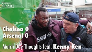 Ozil wouldn't have helped us! | match day thoughts feat. kenny ken