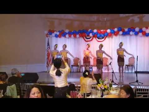 """Lao Fast Dance Mayor Steve Ly """"Many Cultures,  One Elk Grove"""" Event"""