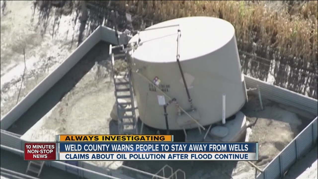 Weld County warns people to stay away from damaged oil tanks