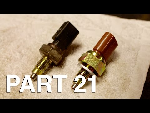 How to Replace a Transmission Reverse Light Switch