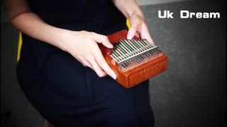 17 Keys Kalimba Mbira Sanza Likembe Thumb Piano Rosewood Instrument Traditional African Music