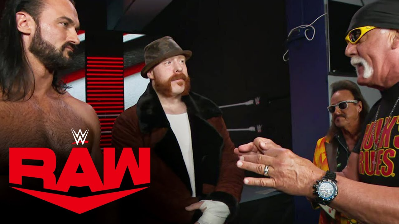 Hulk Hogan gets Drew McIntyre fired up: Raw, Jan. 4, 2021