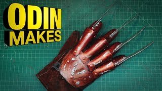 Odin Makes: Freddy Krueger's Glove from A Nightmare on Elm Street