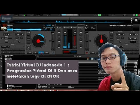 Cara Menggunakan Virtual DJ 8 - Tutorial Virtual DJ 8 Indonesia #1