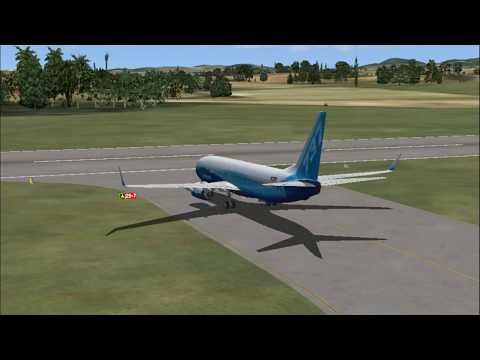FSX 737-800 Boeing - TAPA - TNCM