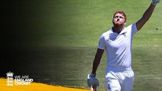 Bairstow's first Test century in record partnership