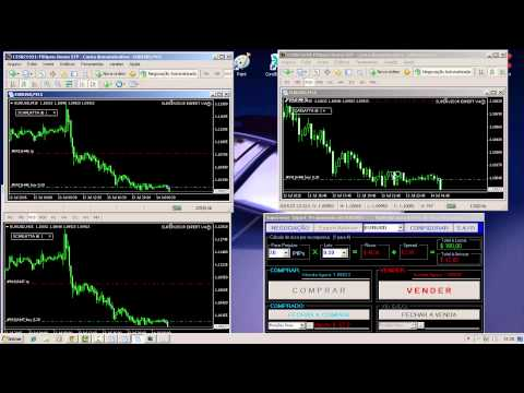 FOREX: Operating in several accounts at once - Operando em varias contas ao mesmo tempo