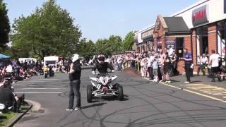 Dave Coates at CMC Motorcycles Stunt Bike Sunday 18/5/2014 Quad Bike Part 2