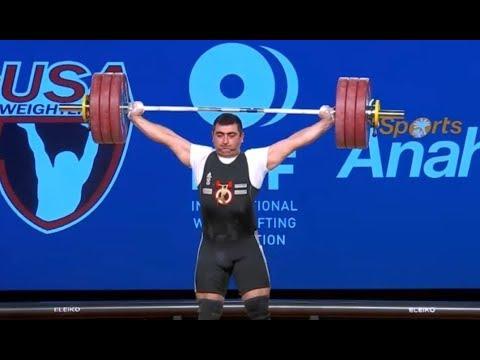 Sargis Martirosjan - Reißen 178, 182x, 184x - 2017 WEIGHTLIFTING WORLD CHAMPIONSHIPS