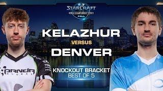 Kelazhur vs Denver TvZ - Knockout Round #6 - WCS Fall 2019 - StarCraft II