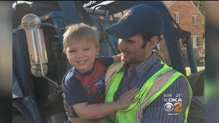 Trash Collector Helps Toddler Traumatized By Tornado Overcome Fear Of Loud Noises