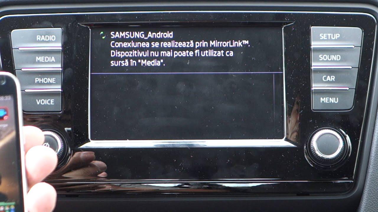 SmartLink pe Bolero 2, Skoda Octavia III