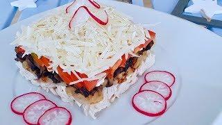 Беспроигрышный вариант салата!!! Вкусный и простой вариант!!  Рецепты салатов.