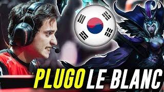 KLG PLUGO JUEGA UNA PARTIDAZA EN KOREA DUO NATE *PLACEMENTS*  LEBLANC || League of Legends