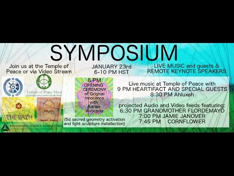 Symposium at the Temple of Peace