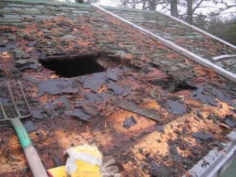 How To Repair A Rotted Roof Bill S Painting And Remodeling