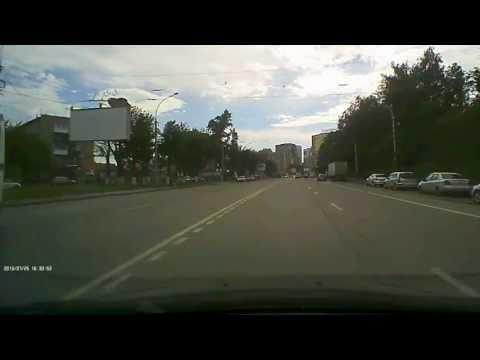 2013-07-25, г. Новосибирск, проспект Дзержинского. Велосипедист.