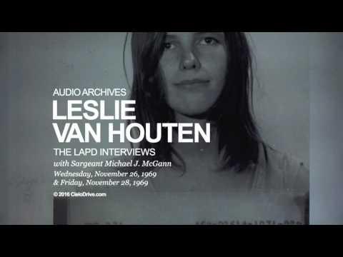 Leslie Van Houten LAPD Interviews - November 26, 1969 and November 28, 1969