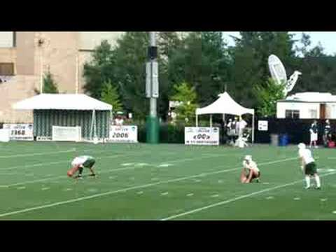 Mike Nugent Hits Camera Guy With Kick