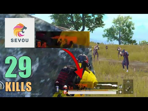 NO AMMO vs 4 WIN!!! | 29 KILLS | SOLO SQUAD | PUBG Mobile