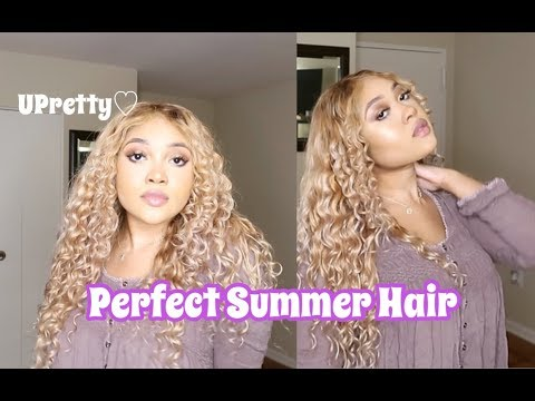 PERFECT SUMMER HAIR! | BLEACHING ALIEXPRESS UPRETTY MALAYSIAN CURLY