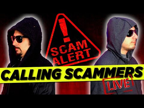 🔴calling-scammers-and-wasting-their-time-live