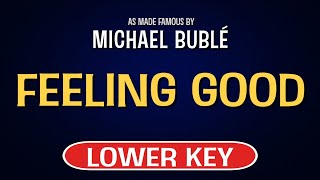 Enjoy singing along with this karaoke version of feeling good as made famous by michael buble. (lower key version)feeling is a song originally recorded ...