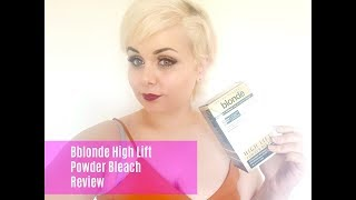Bleaching my hair with Jerome Russell Bblonde High Lift Powder Bleach  || Moonlight Mel