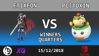 Curtain Call Top 16 WQ: ET|Xeon (Lucina, Yoshi) vs PC|Toxin (Bowser Jr)