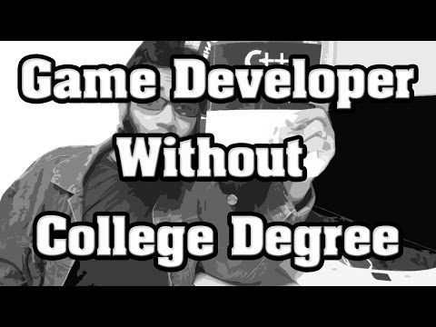 How to Become a Game Developer Without Going to College ?