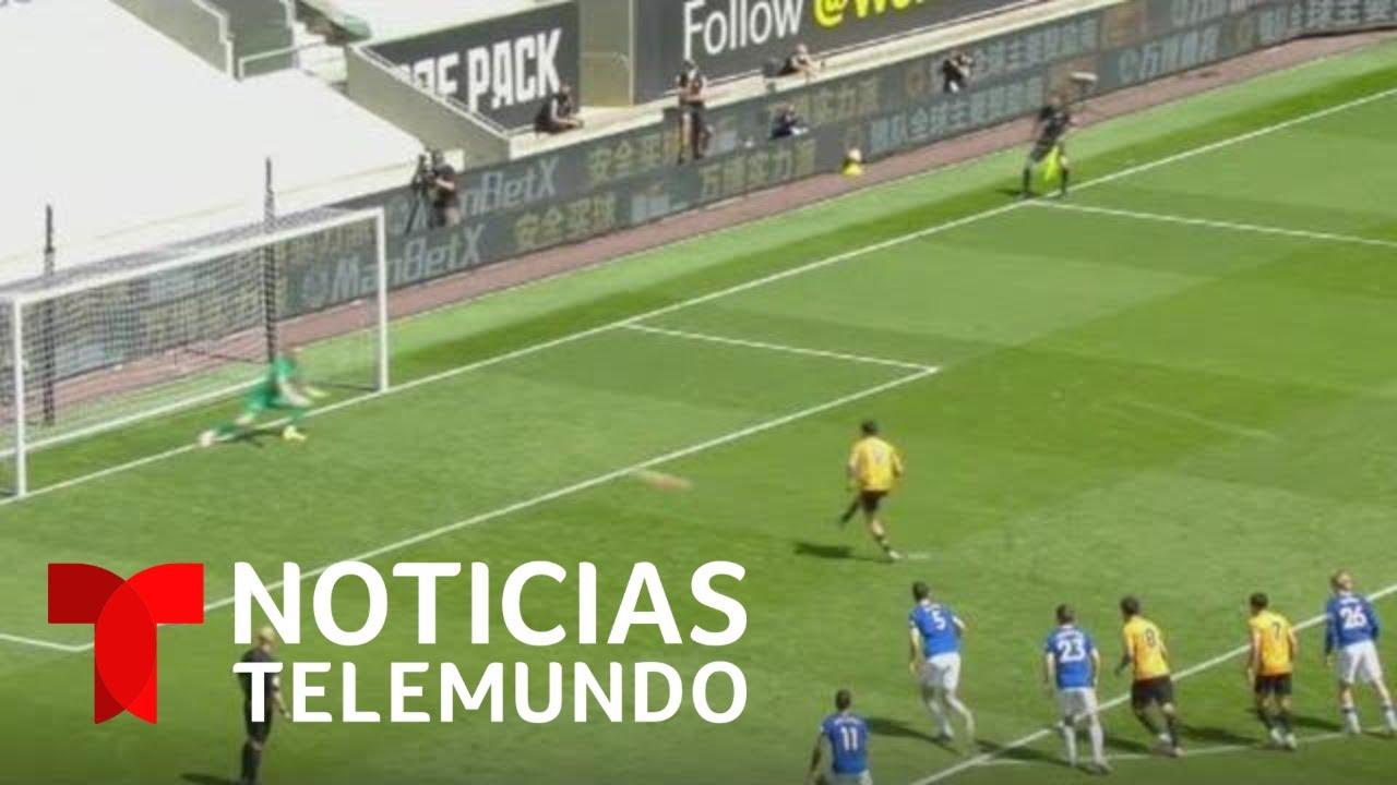 Raúl Jiménez vuelve a anotar para aportar a la importante victoria de los Wolves | Telemundo