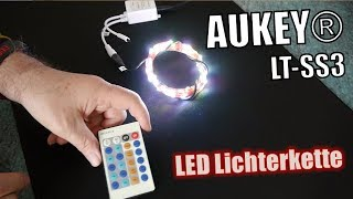 AUKEY LT-SS3 LED RGB Lichterkette - Hands-on