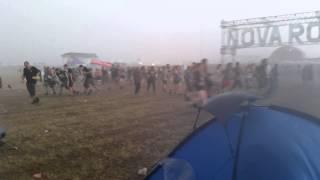 Nova Rock 2015 - Sturm, Gewitter, Hagel