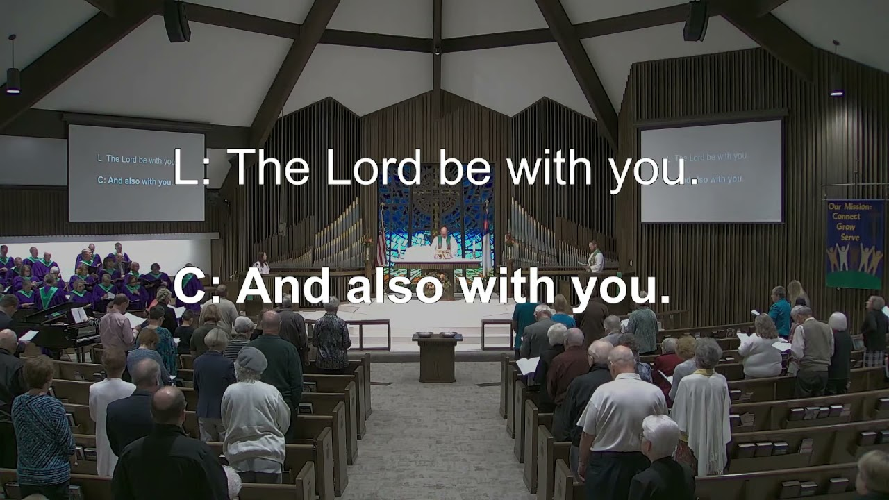 Ascension Lutheran Church 8:30am Tyler Campus Oct. 17, 2021