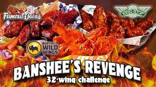 Banshee's Revenge Hot Wing Challenge | Challenge Accepted