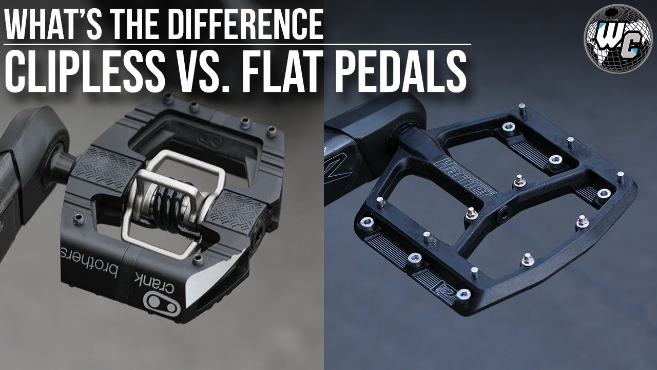 da8d89fe548 Flat vs. Clipless Pedals | The Truth, The Lies & The Slander - YouTube