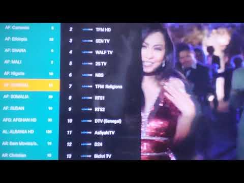 Gtmedia G5 Android 9.0 TV box iptv Nederland/Netherlands menu walkthrough and NL channel list